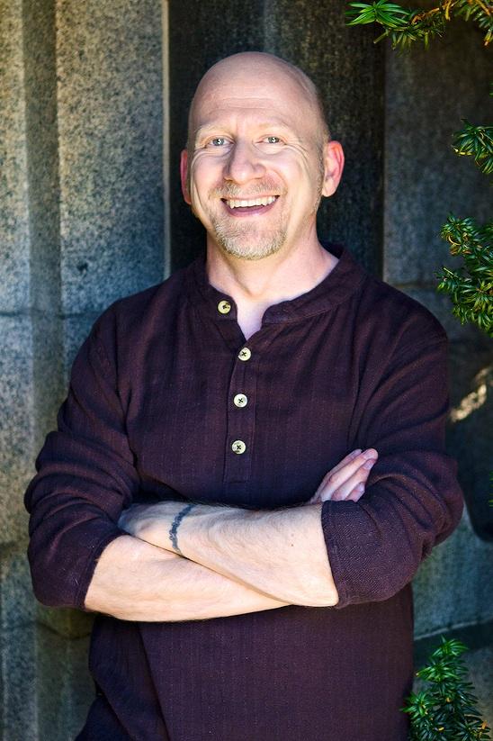Charlie Glickman Purple Shirt